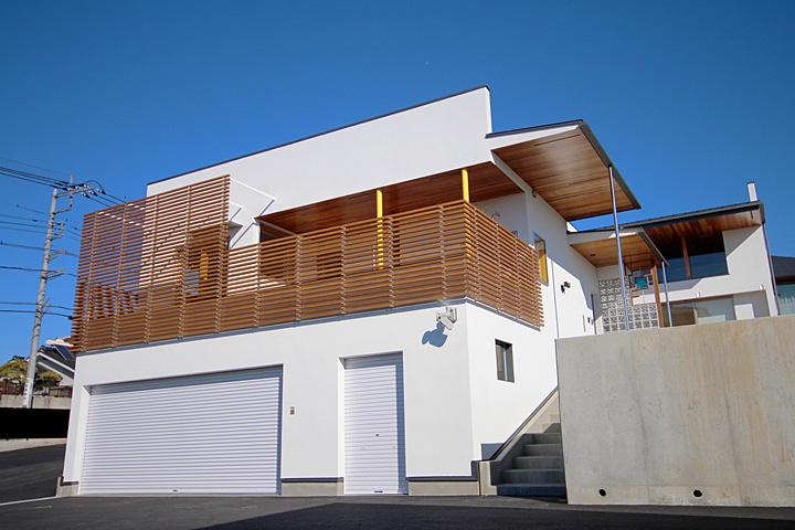新築 社屋 塗装