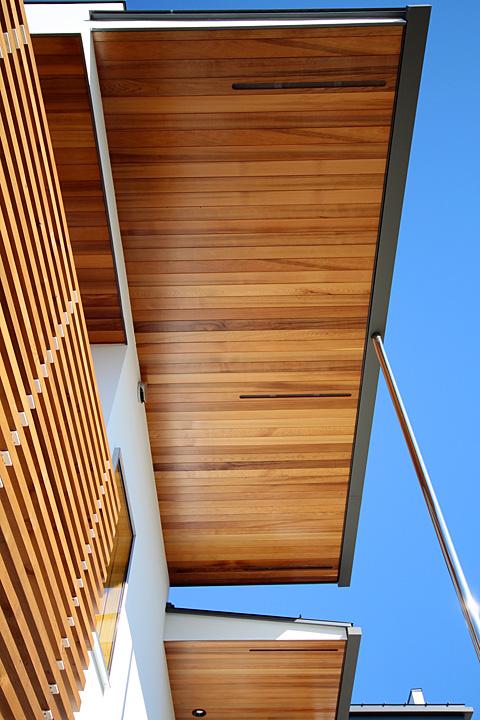 木材の屋根