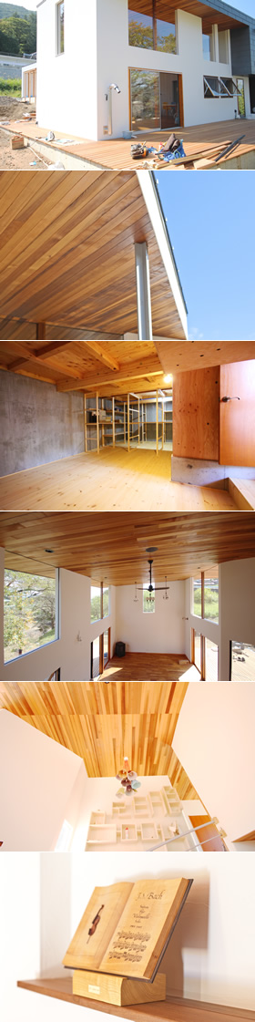 韮崎市 H様邸 2014年10月 新築工事