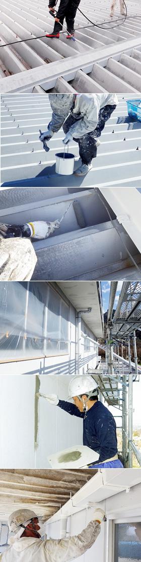 笛吹市 倉庫 2015年3月工事